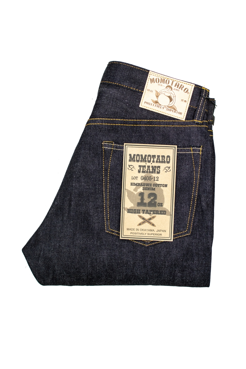 HIGH TAPERED 12OZ | RAW
