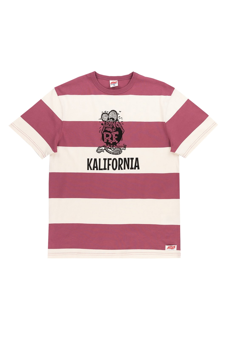 KALIFORNIA | BURGUNDY STRIPE