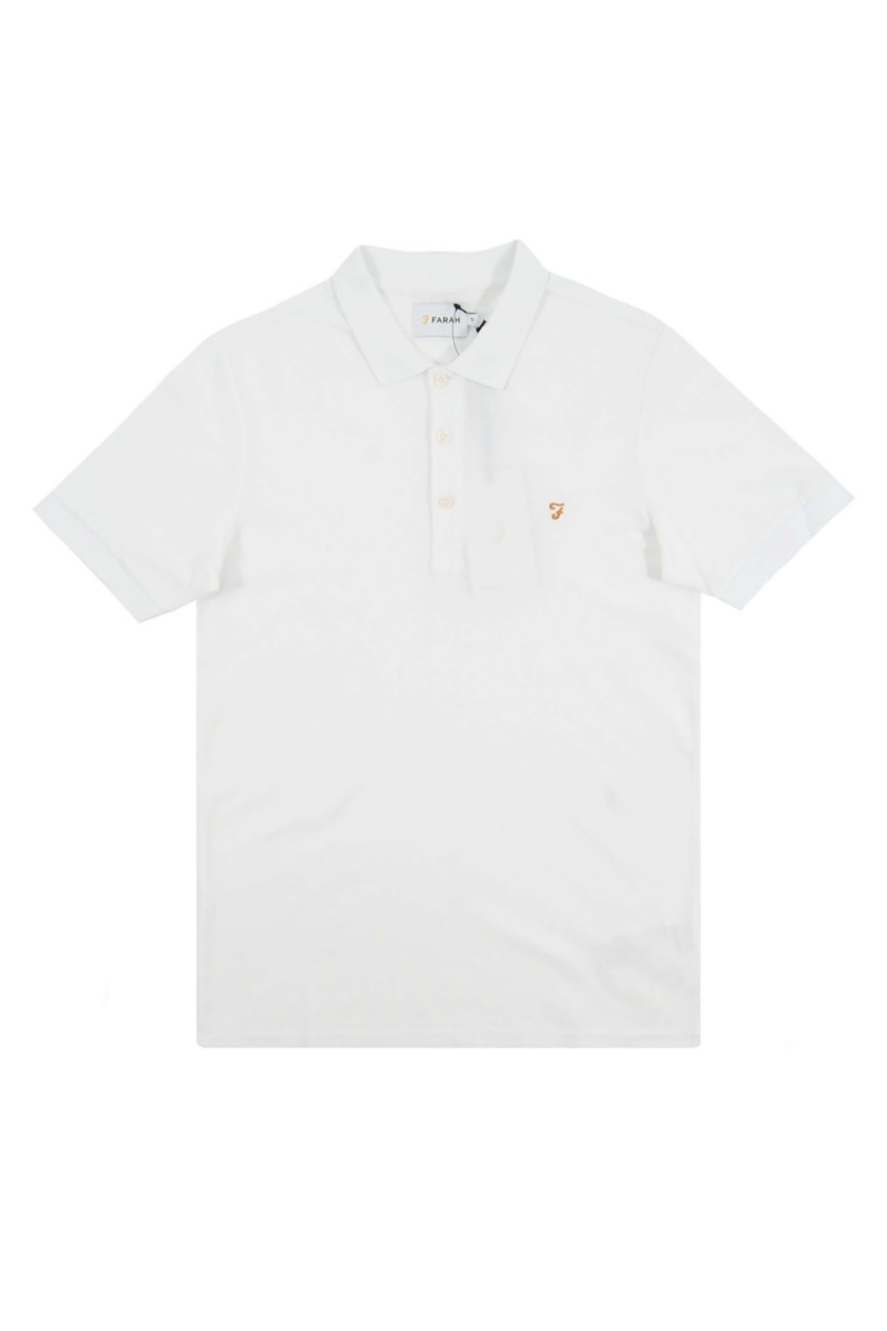BLANEY POLO | WHITE