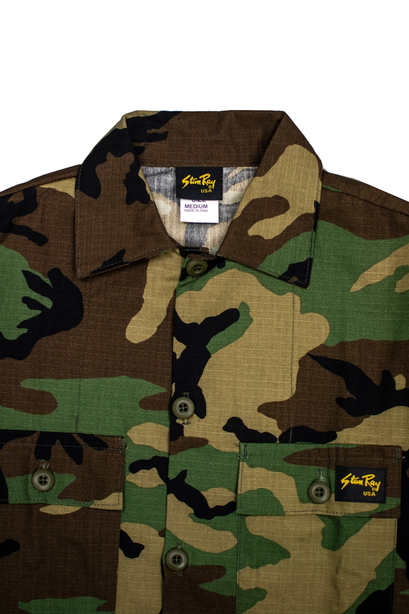 4 POCKET FIELD JACKET | WOODLAND CAMO