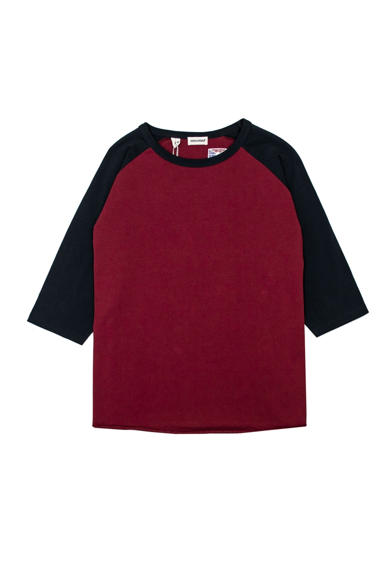 LEON RAGLAN | GUAJILLO RED BLACK