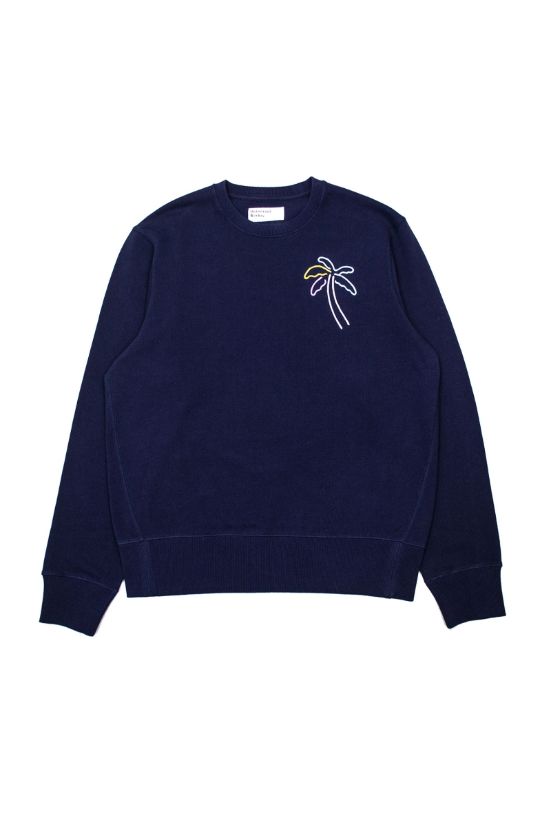 NEON SWEATER | NAVY