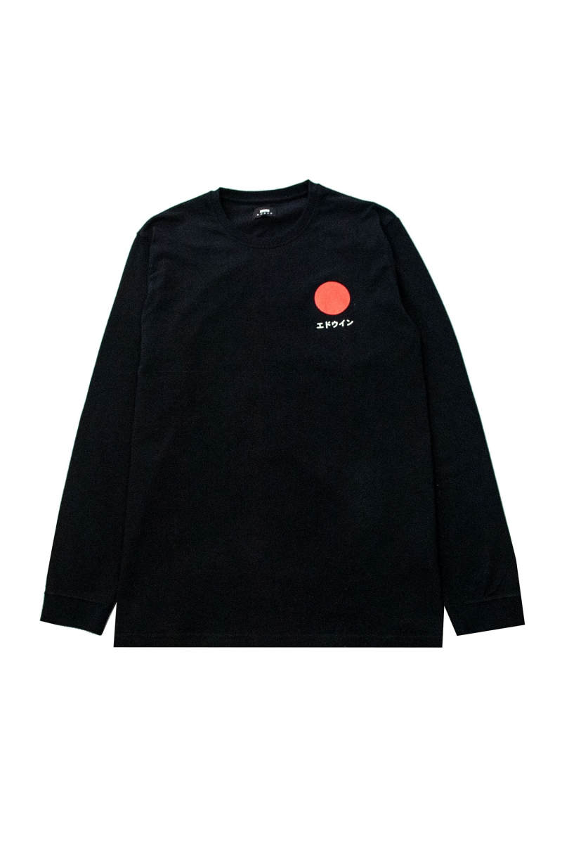 JAPANESE SUN LS | BLACK