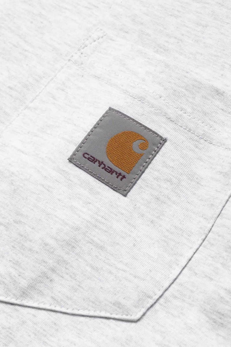 S/S POCKET | ASH HEATHER