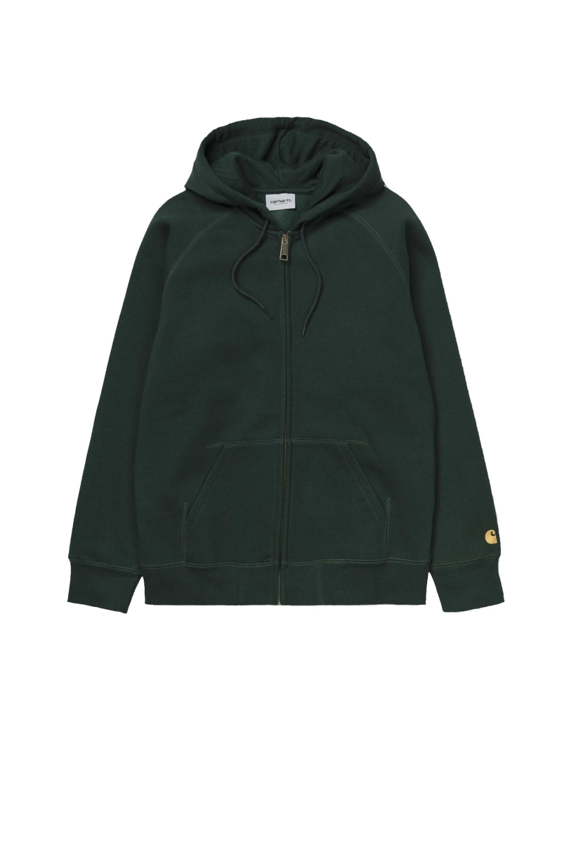 HOODED CHASE | BOTTLE GREEN