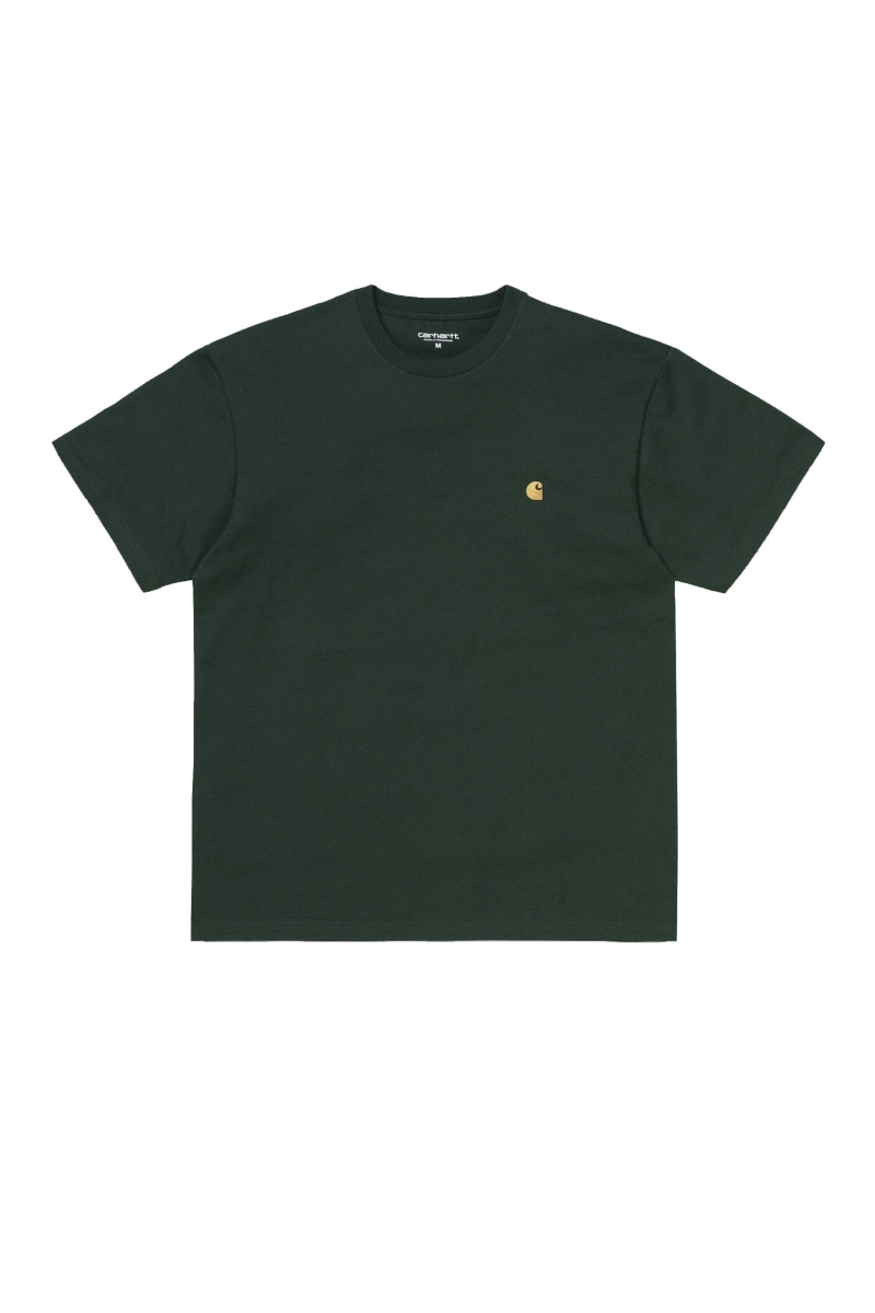 CHASE TEE | BOTTLE GREEN