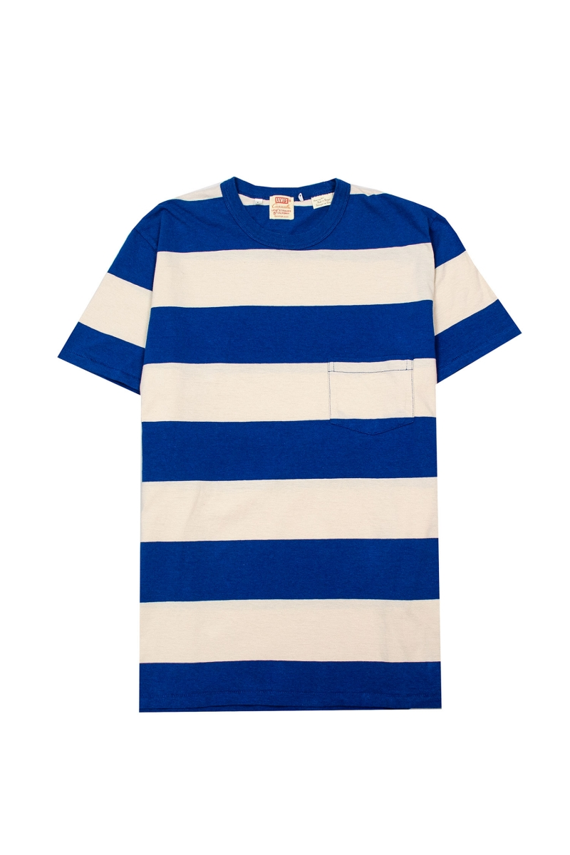1960 CASUAL STRIPE | BLUE WHITE