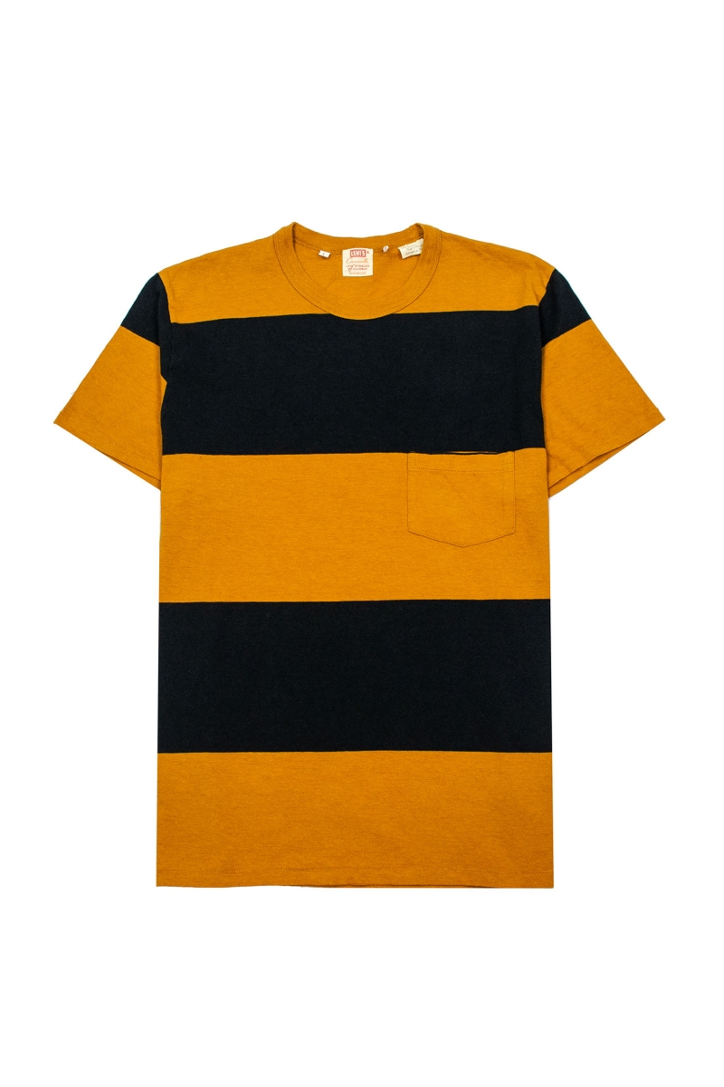 1960 CASUAL STRIPE | BLACK GOLD