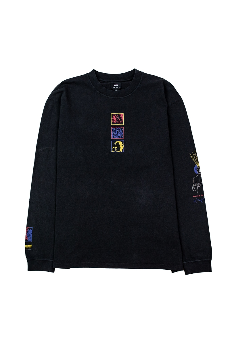 HAZY DREAM LS | BLACK