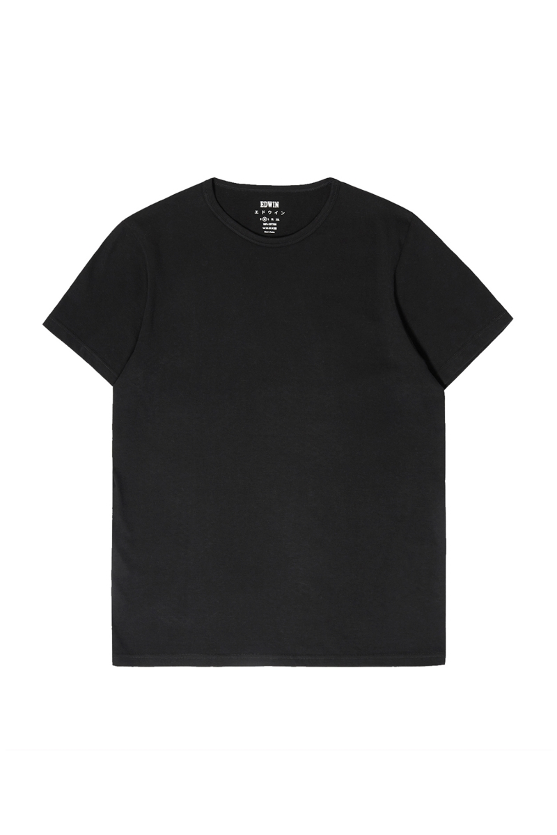 DOUBLE PACK TEE | BLACK