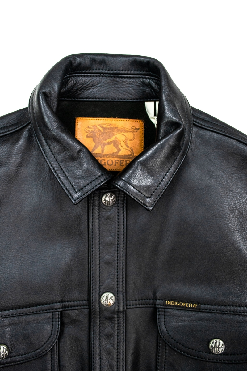 EAGLE RISING LEATHER | BLACK
