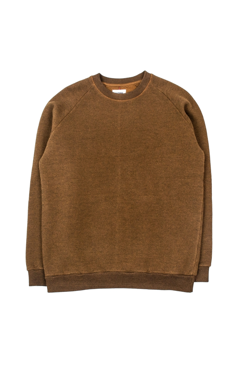 TERRY SWEAT | LIGHT BROWN
