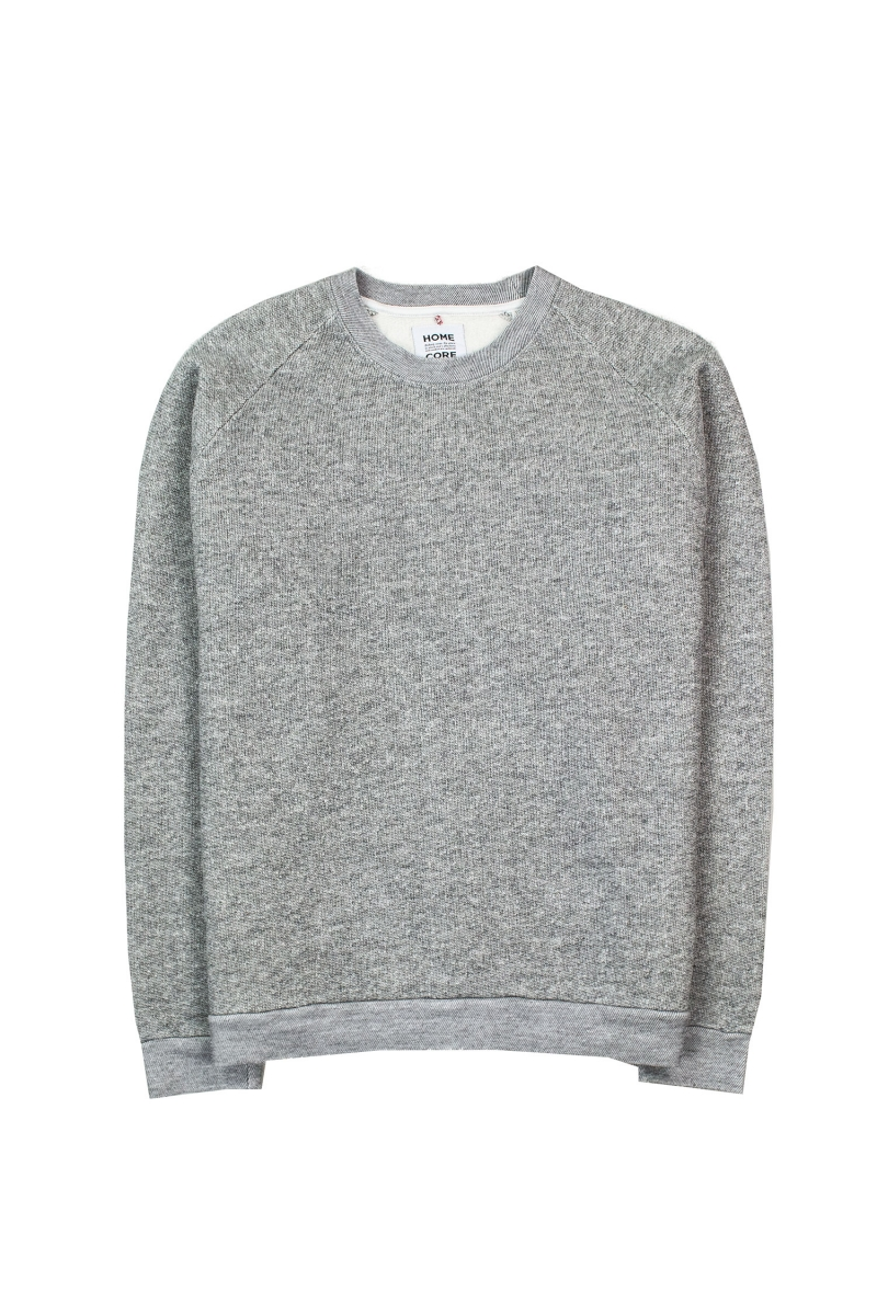 TERRY SWEAT | ASH GREY