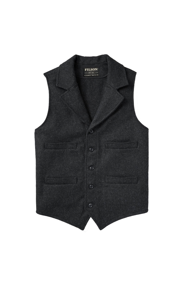 WESTERN VEST | CHARCOAL