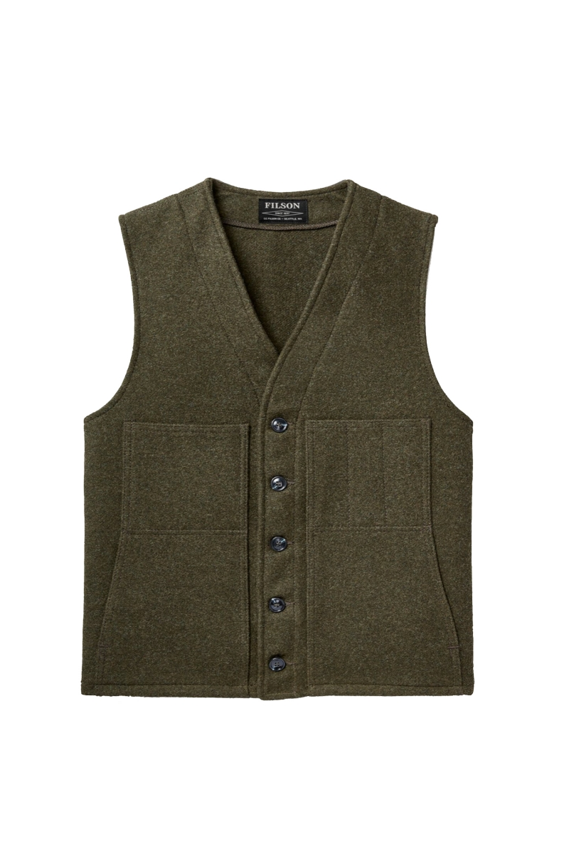 MACKINAW VEST | FOREST GREEN