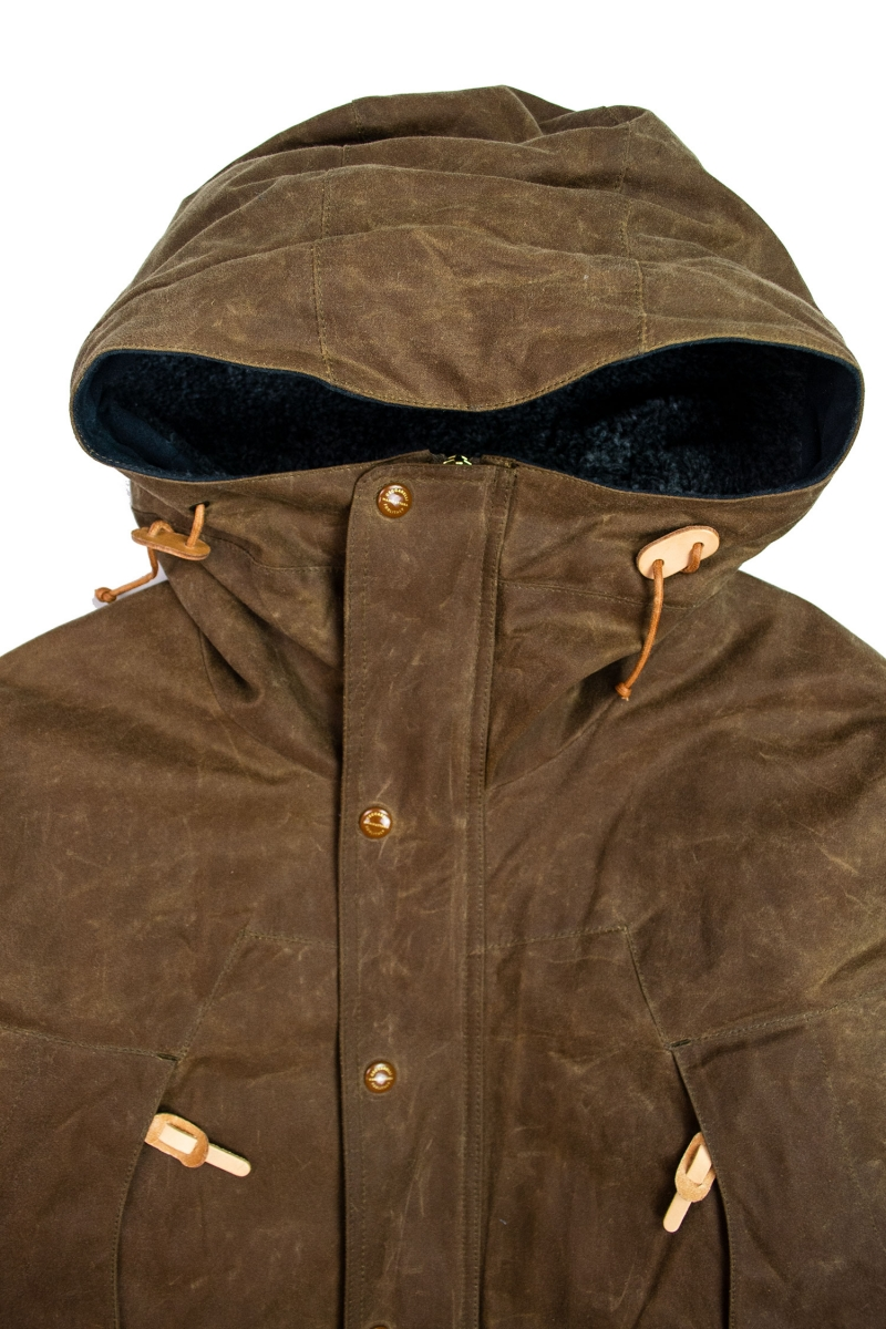MOUNTAIN JACKET | DARK TAN