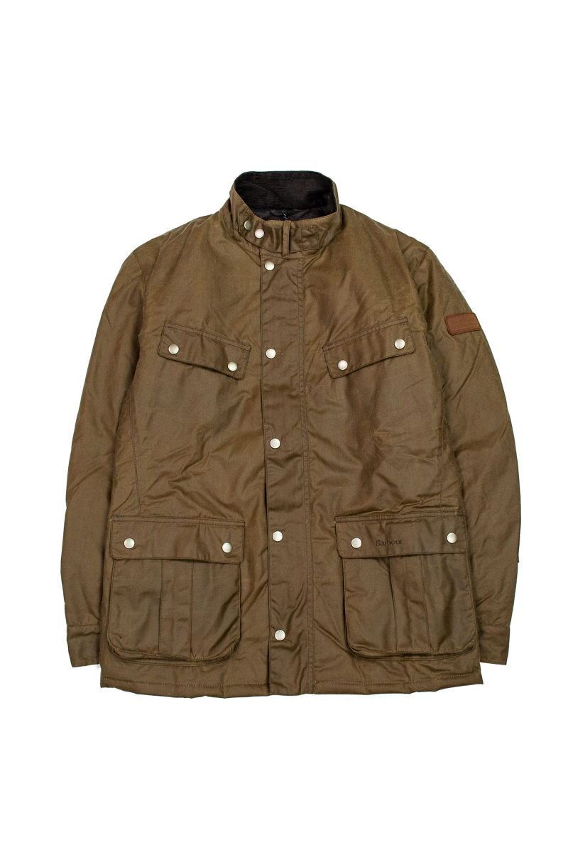 DUKE WAX JACKET | BARK