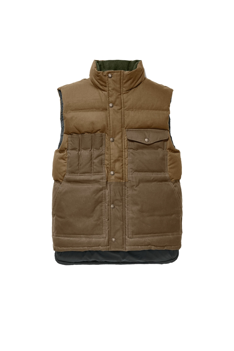 DOWN CRUISER VEST | DARK TAN