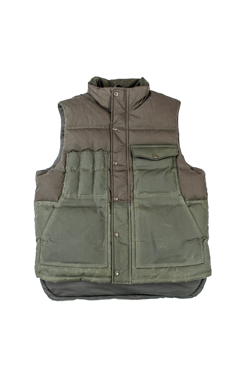 DOWN CRUISER VEST | OTTER GREEN