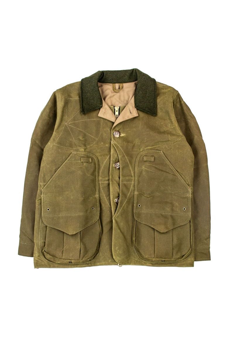 TIN CLOTH FIELD JACKET | TAN