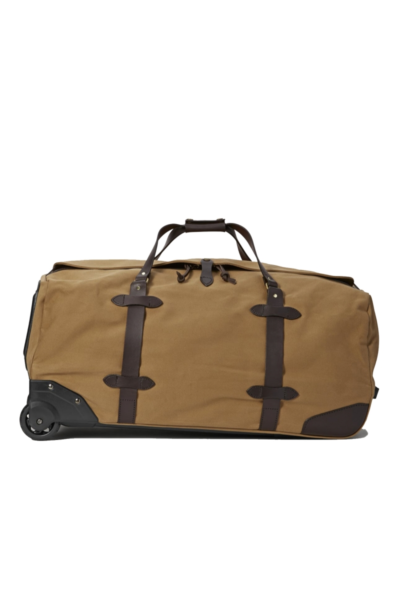 WHEELED DUFFLE BAG | TAN
