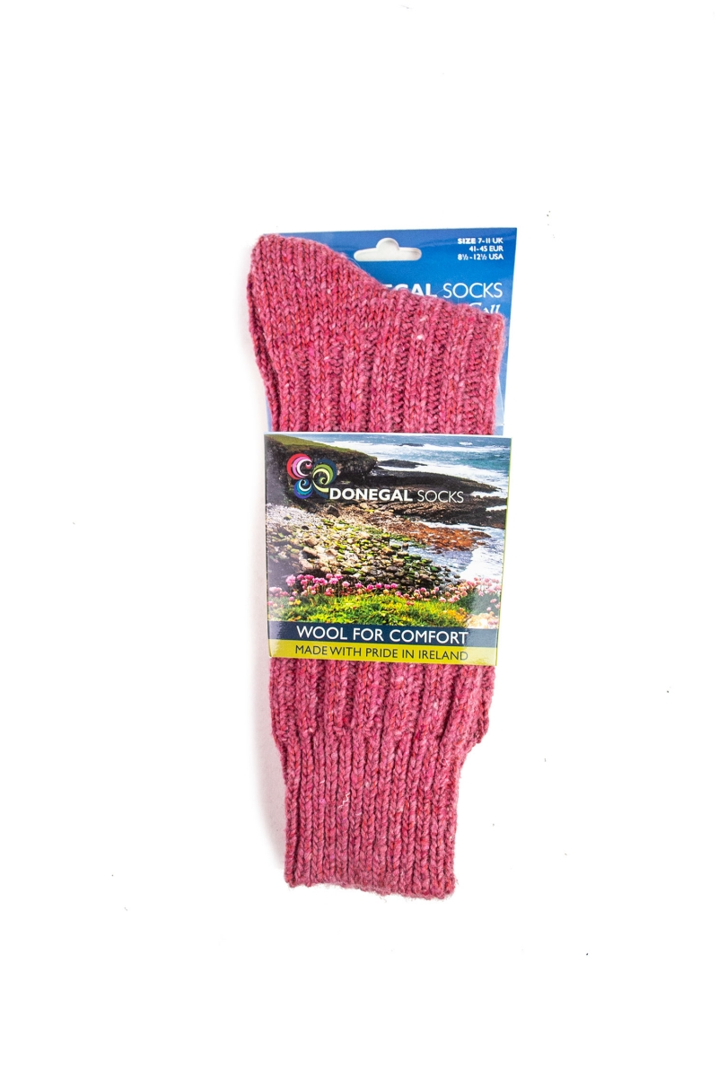 DONEGAL SOCKS | PINK