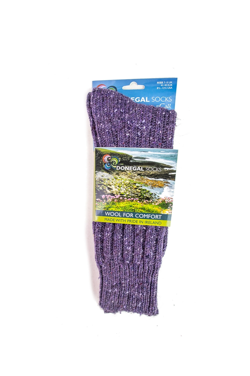 DONEGAL SOCKS | LAVENDER