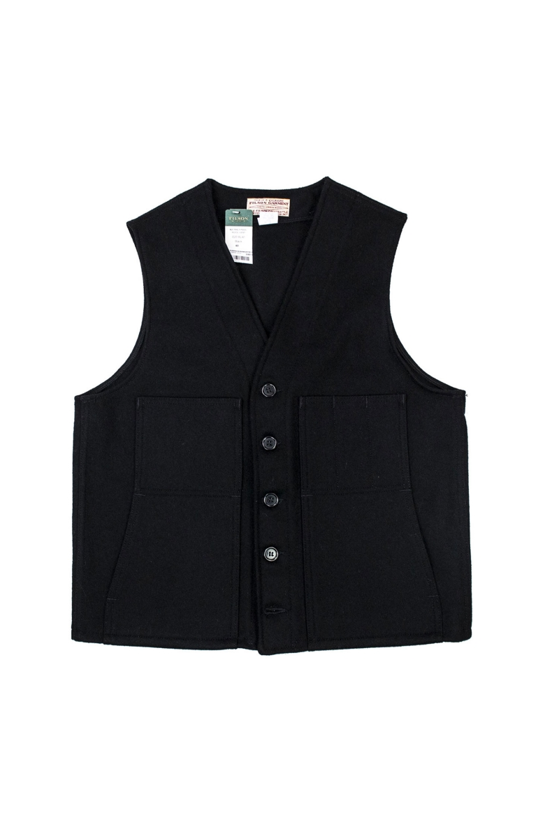 MACKINAW VEST | BLACK