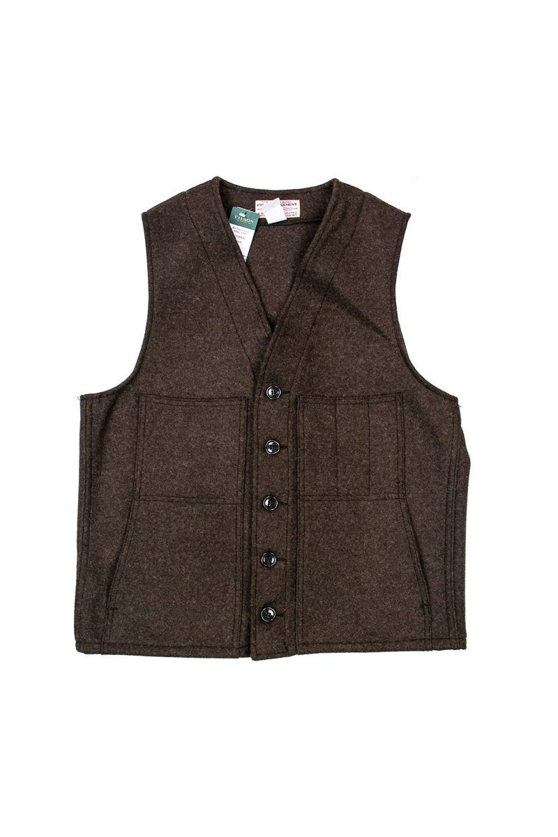 MACKINAW VEST | BROWN