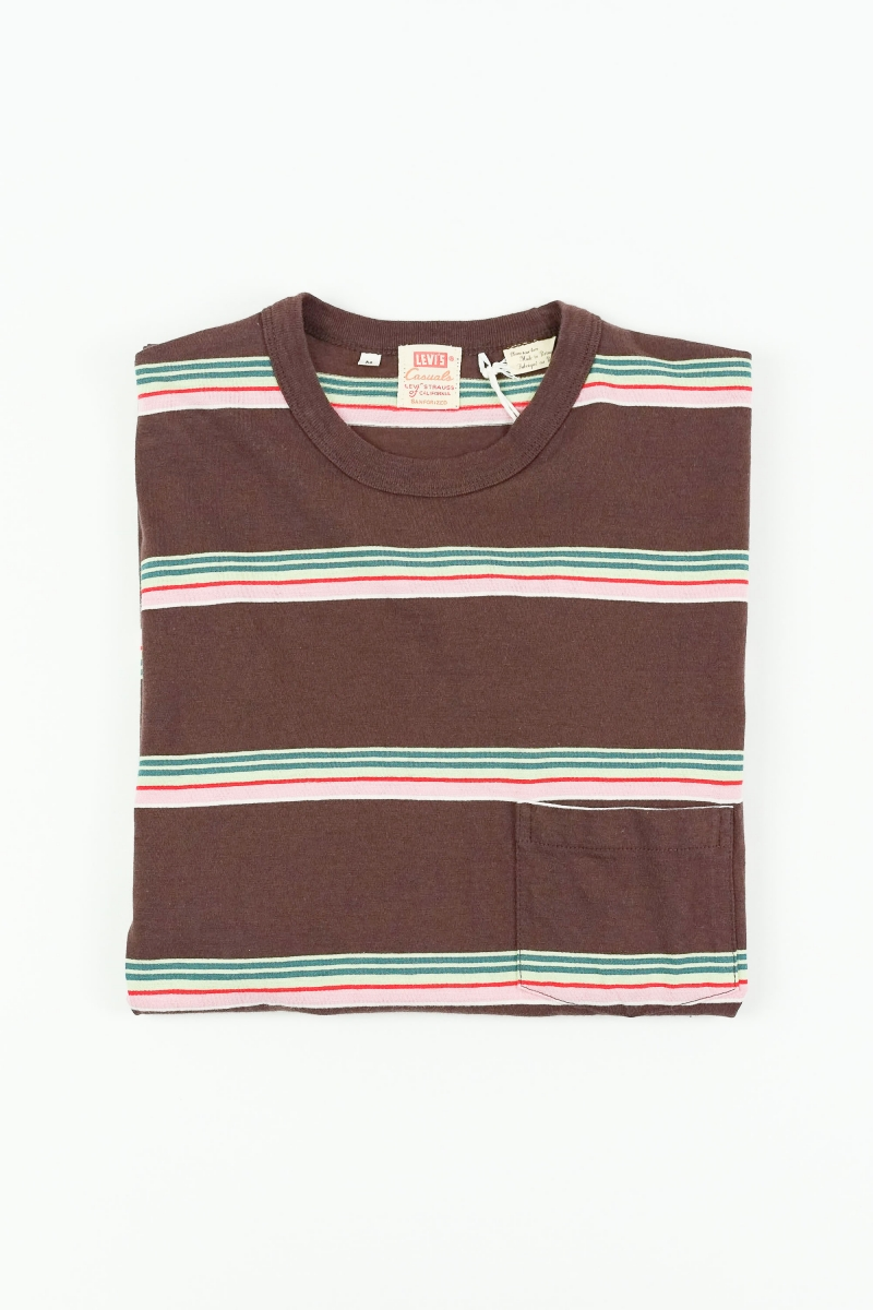 1960 CASUAL STRIPE | BROWN MULTI