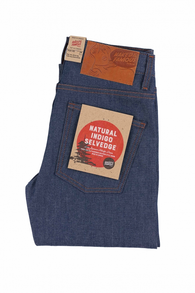 SUPER GUY | NATURAL INDIGO