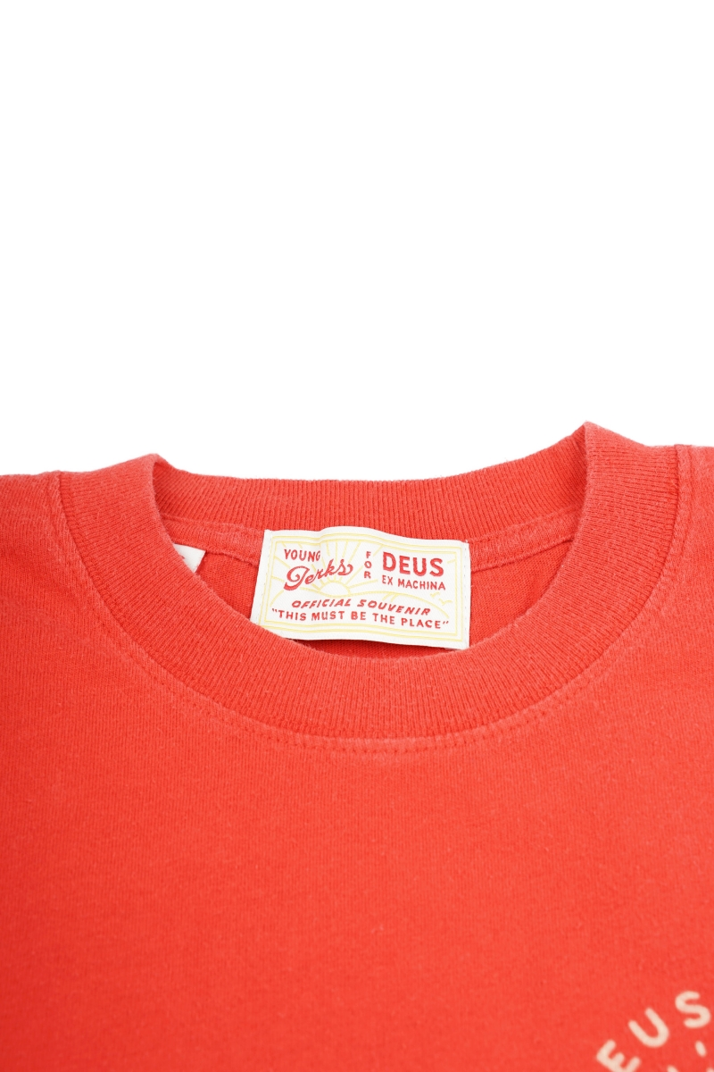 SEE YOU TEE | RED MOLTEN