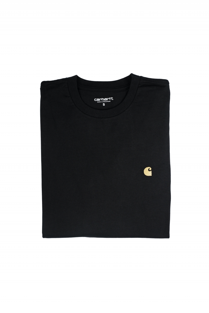 LS CHASE TEE | BLACK
