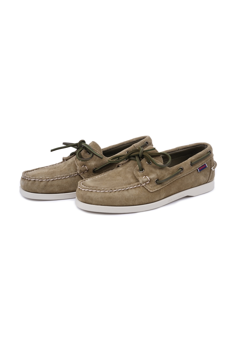 DOCKSIDES | GREEN MILITARY SUEDE