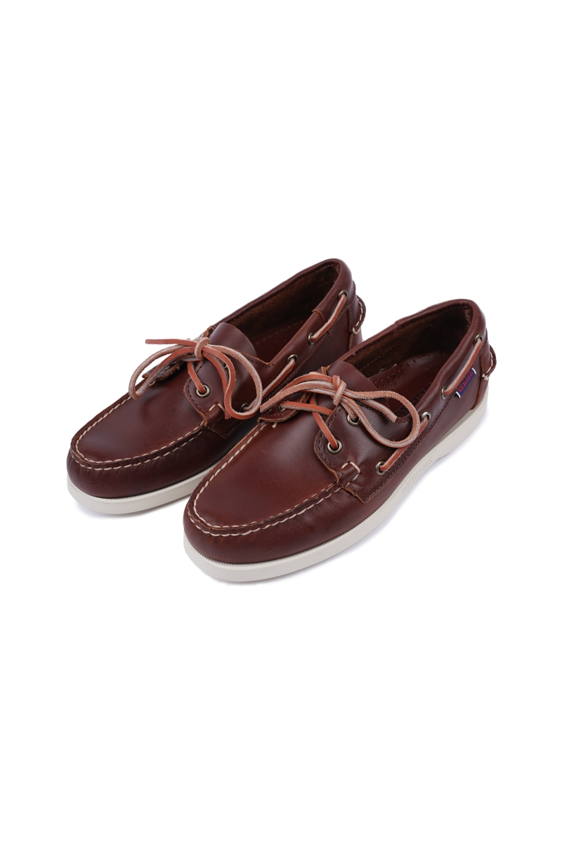 DOCKSIDES | BROWN WAXED