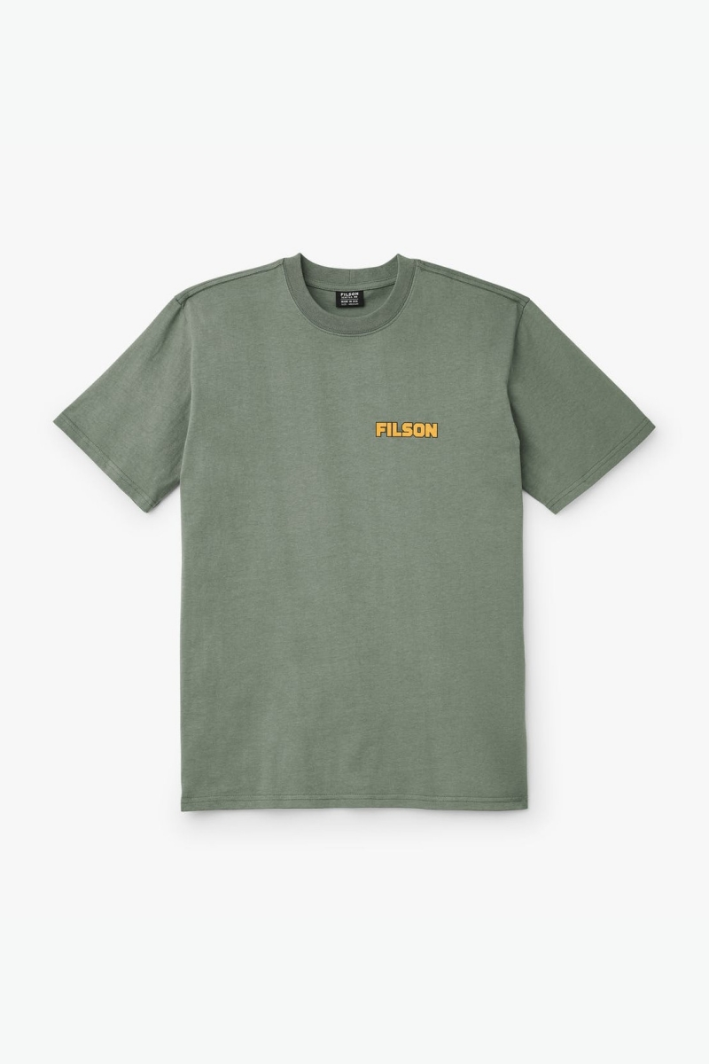 OUTFITTER GRAPHIC   SERVICE GREEN