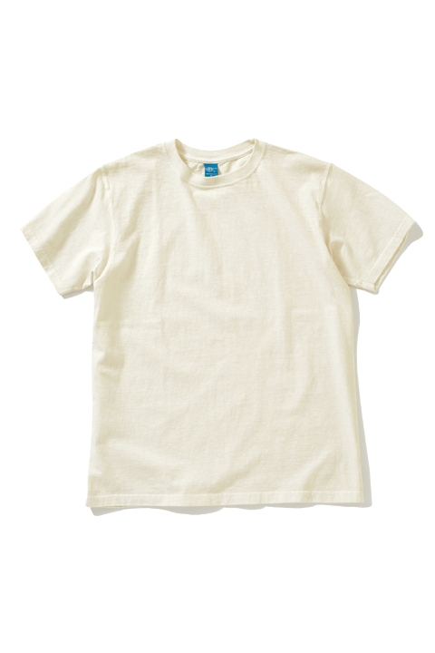 CREW TEE S/S | P.NATURAL