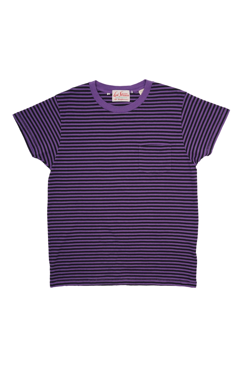1950 SPORTSWEAR | PURPLE STRIPE