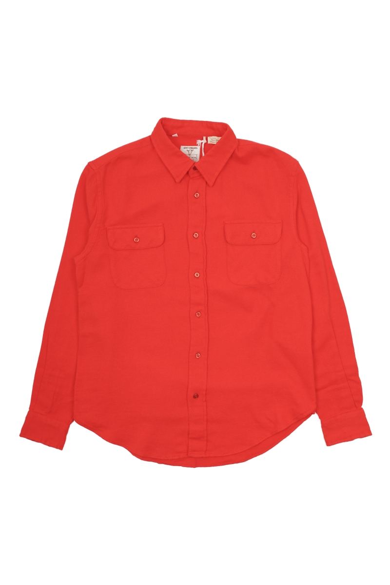 SHORTHORN SHIRT | FLAME SCARLET