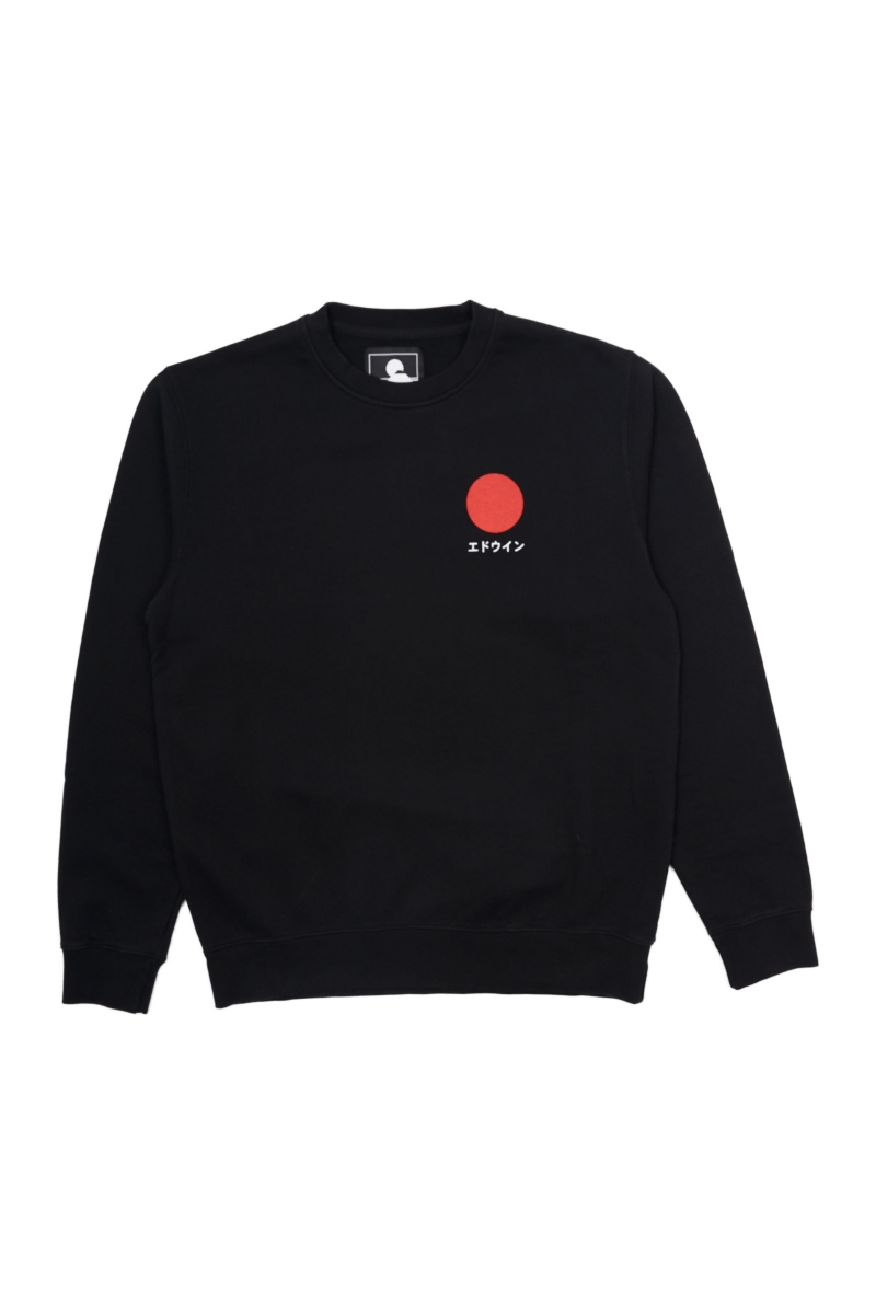 JAPANESE SUN SWEAT | BLACK