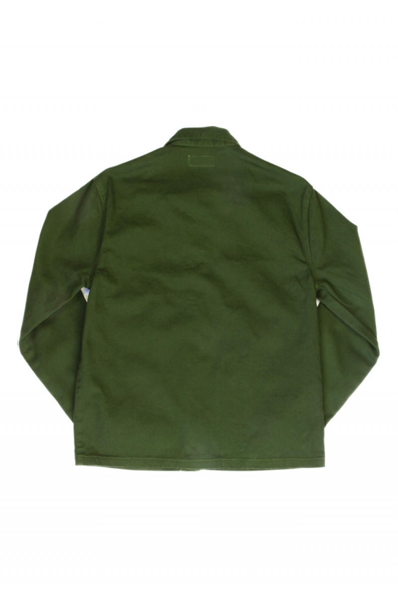 COVERALL JACKET | GREEN