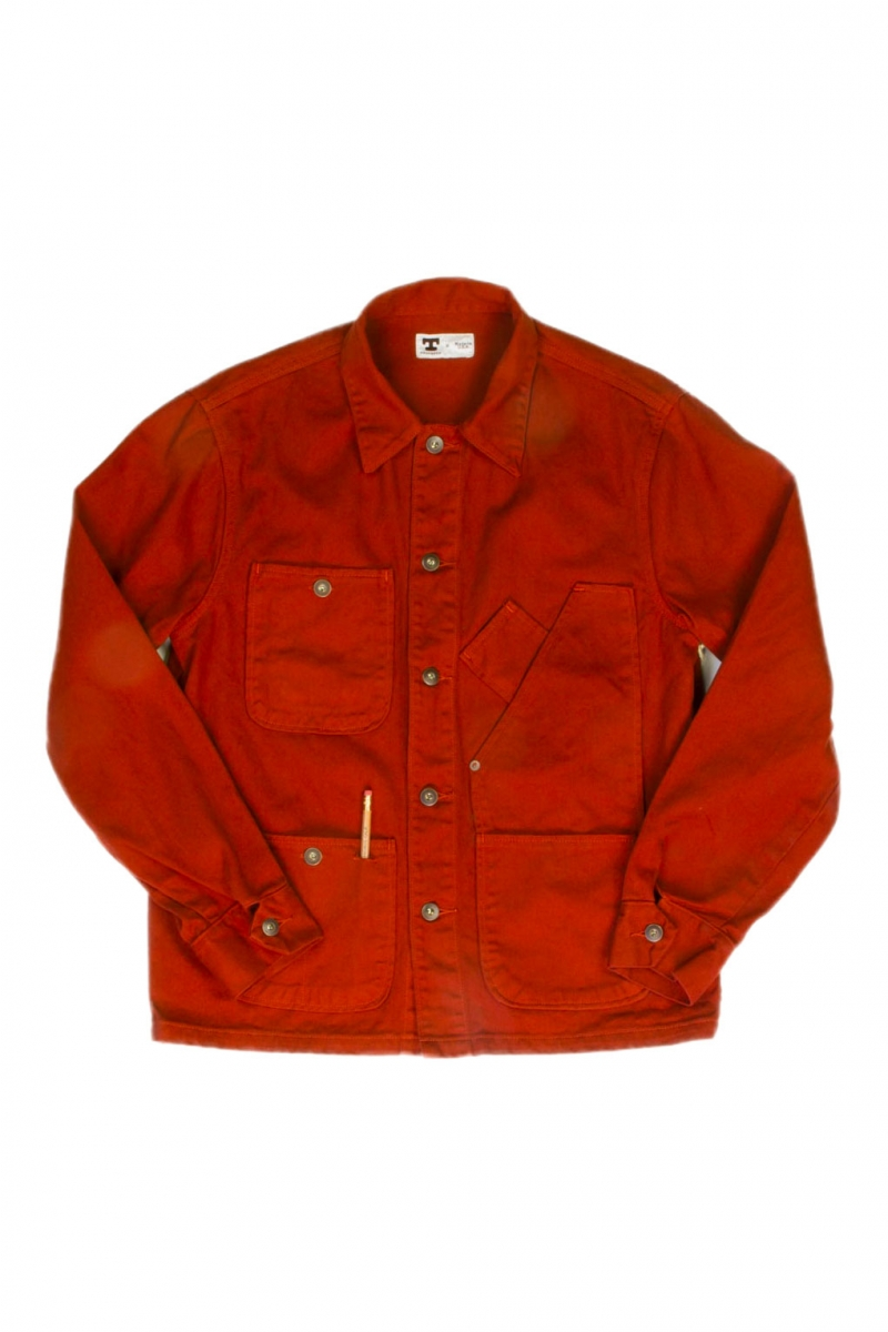 COVERALL JACKET | ORANGE