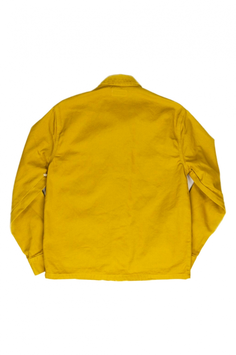 COVERALL JACKET | MUSTARD