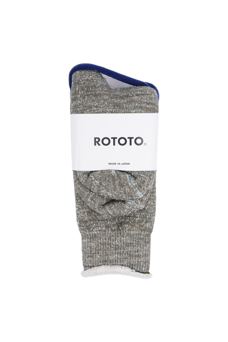 DOUBLE FACE SOCKS | ARMY GREEN