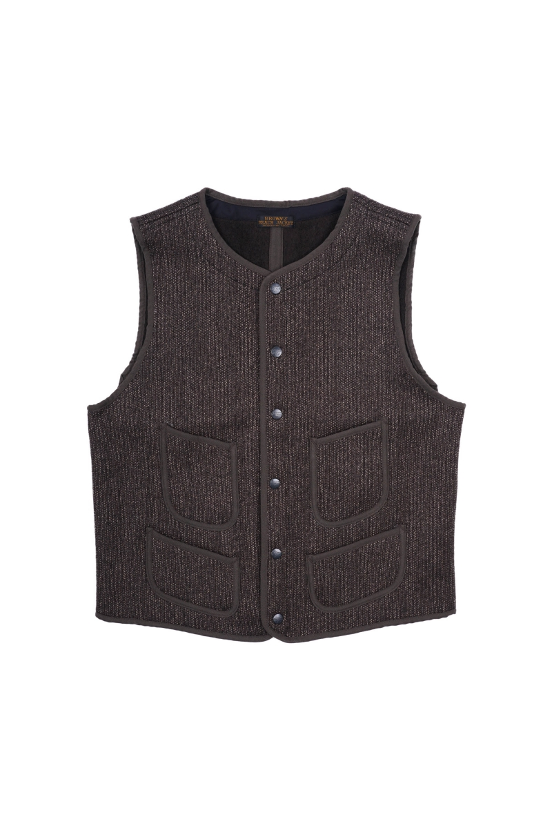 BBJ 001 VEST | OXFORD GREY