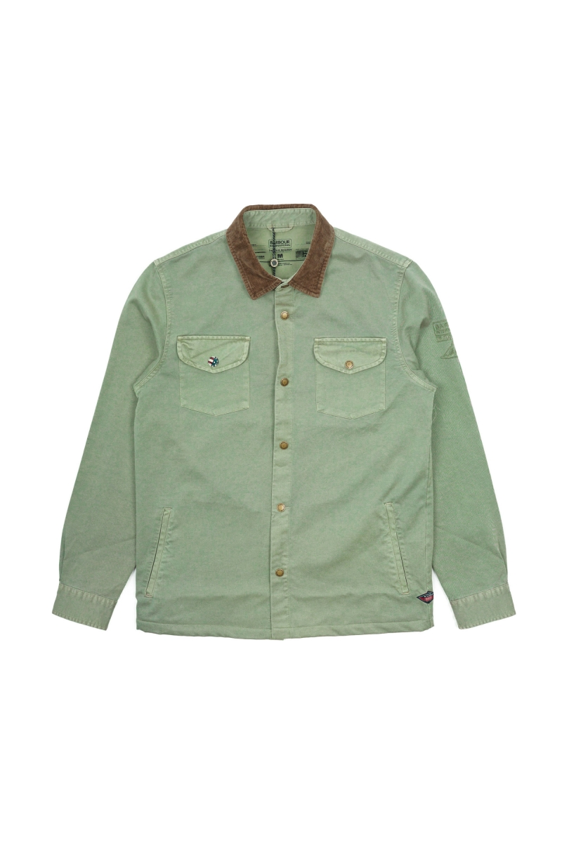 AKEN OVERSHIRT | DUSTY OLIVE