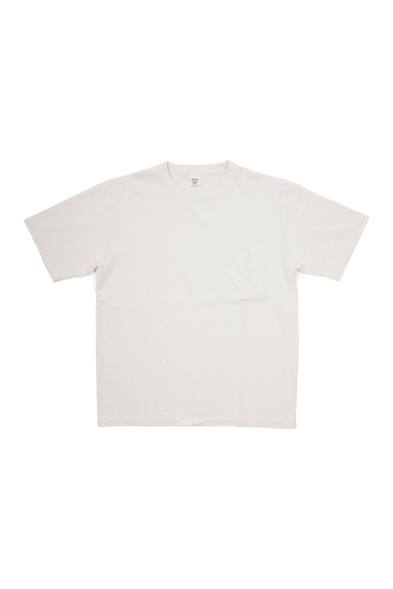 POCKET TEE | ECRU