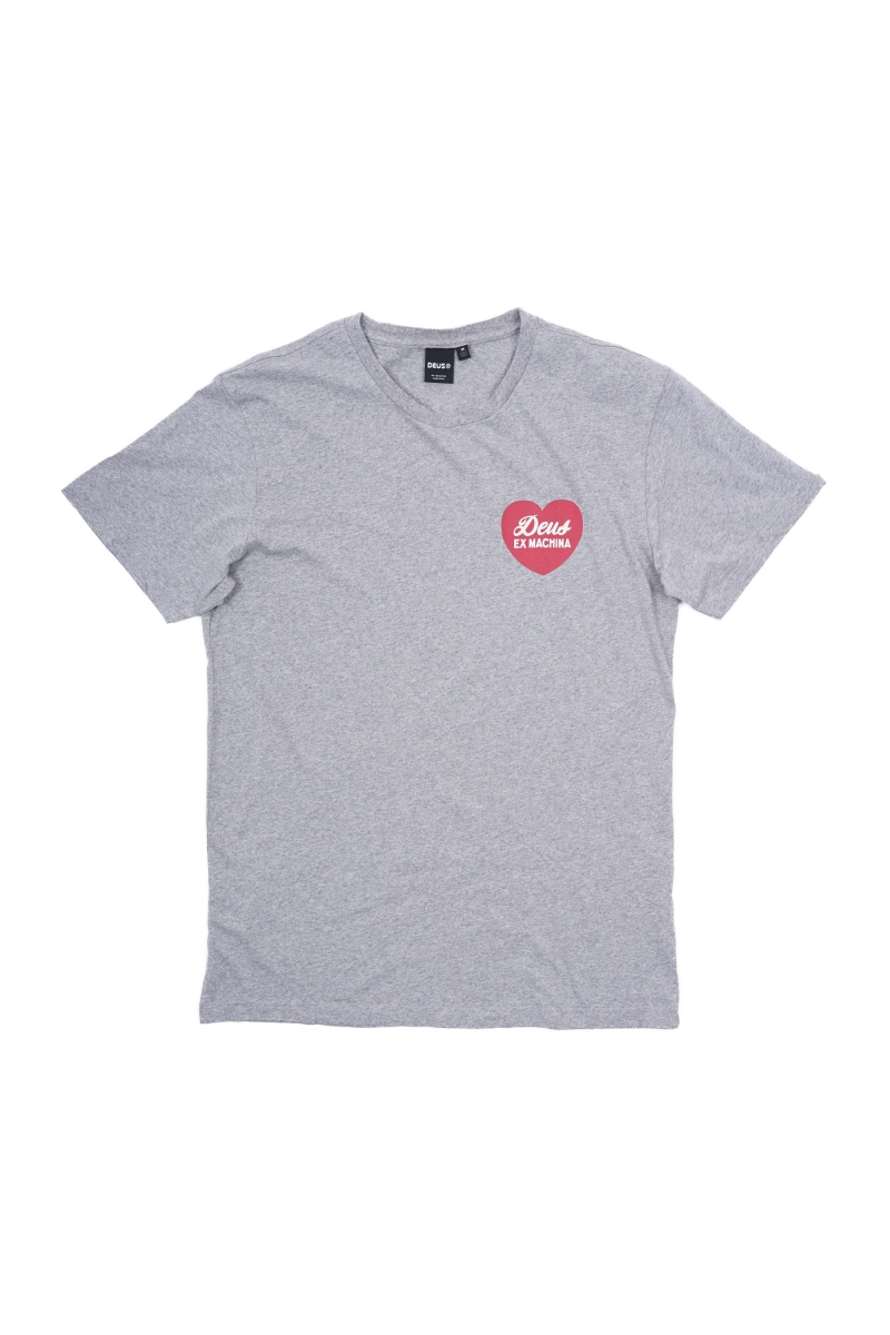 SENTIMENTS TEE | GREY MARL