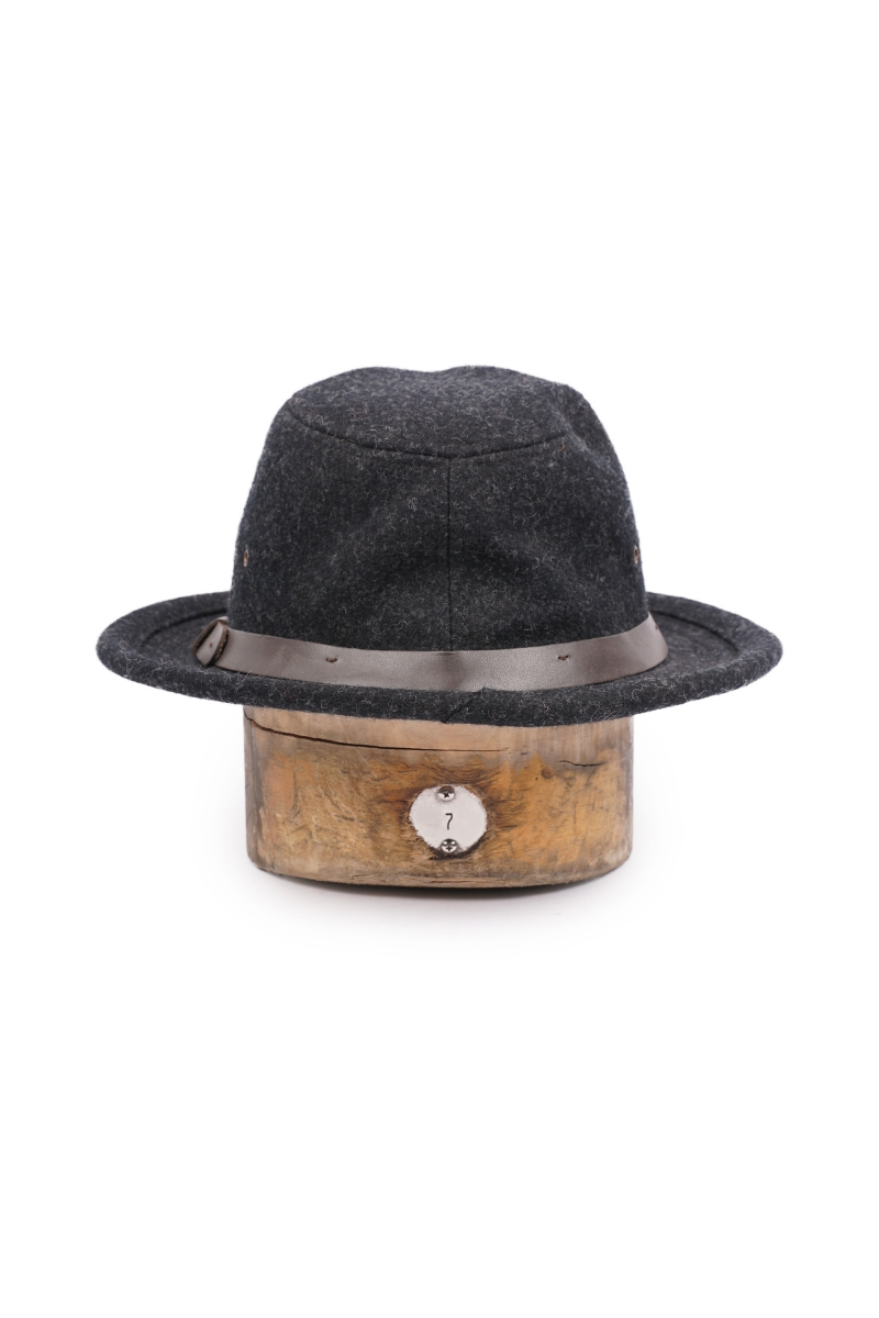 WOOL PACKER HAT | CHARCOAL