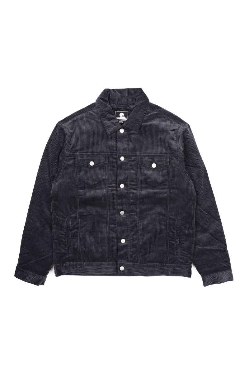 TRUCKER JACKET | EBONY